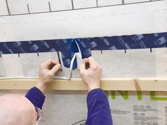 Dampfsperren Pro Clima Kaflex Multi Fürs Dach Kabel Manschette